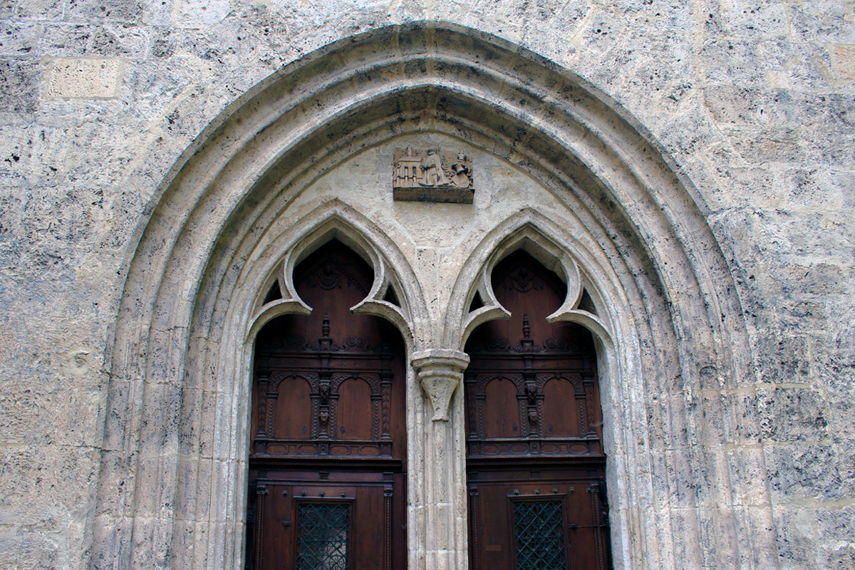 Ehemaliger Haupteingang der Geislinger Stadtkirche