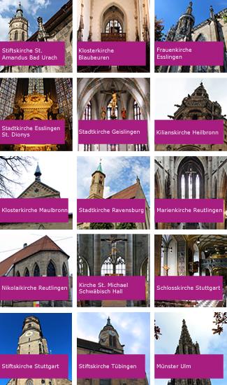 Kirchen der Reformation in Württemberg