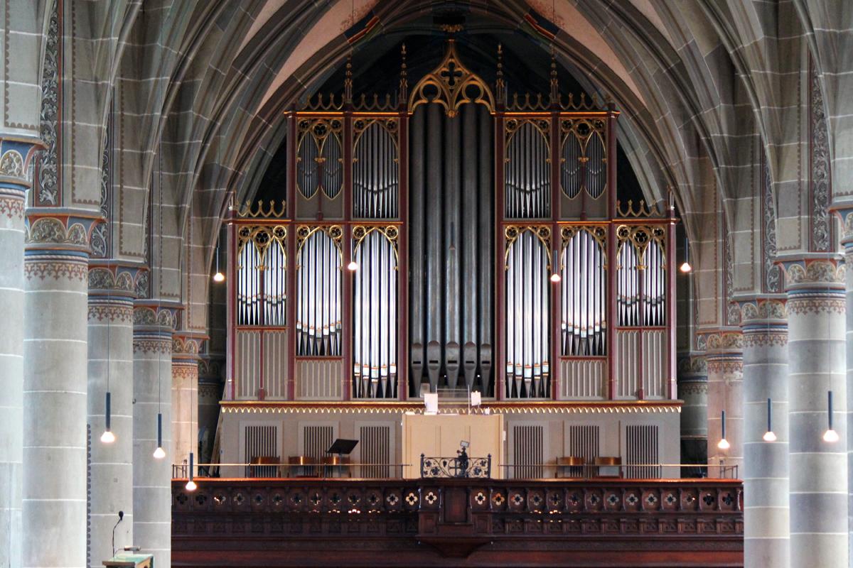 Die Orgel in der Kirche St. Michael zählt zu den größten Orgeln in der Evangelischen Landeskirche in Württemberg